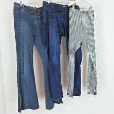 Maternity Trouser Bundle Size 14 Jeans Leggings Blooming Marvellous