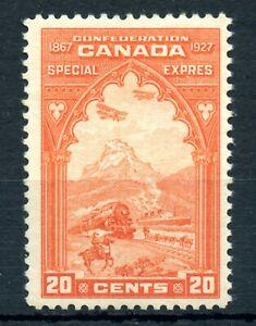 Weeda Canada E3 F/VF MH 20c orange Special Delivery 1927 issue CV $40