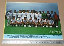 CLIPPING POSTER FOOTBALL 1980-1981 D2 FC ABBEVILLE