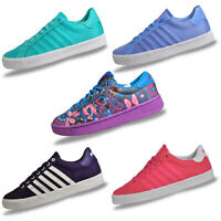 K Swiss Womens Girls Classic Retro Sneakers Trainers From Only £16.99 FREE P&P