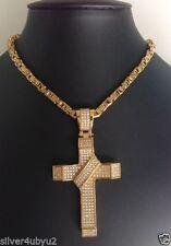 Unbranded Men's Cubic Zirconia Chains, Necklaces & Pendants