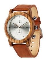 Laimer Reloj Peter Woodwatch Sándalo Reloj de madera Cronógrafo LM0059 Análogo