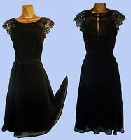 NEW DOROTHY PERKINS BLACK SEQUIN PARTY DRESS   8 10 12 14 16 18