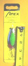 Apex Moxie Spoon #MX78-3 7/8 Oz Chrome w/Flo Green Center