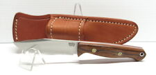 Bark River Knives Gunny Sidekick, CPM154,Desert Ironwood,Red Liner&MosaicPins #2