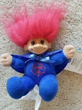 "Super Dad Troll Doll 6"" Russ Plush SoftBody Father's Day w/tag"