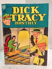 Dick Tracy Monthly #8 (1948) Dell 3.5 VG-
