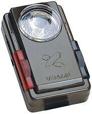 Velamp LC300 Astuccio in Metallo Verniciato con Filtri di Segnalazione e Pulsant