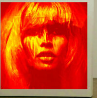 Motiv Bardot Fire RED 120 cmx120 cm Arcylglas 5 mm PopArt/StreetArt/Loft/XXL