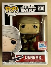 Funko POP Dengar The Bounty Hunter & NYCC Exclusive Vinyl Figure #230