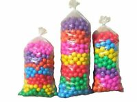 1000 BRAND NEW SOFT PLAY BALLS -BALL PIT, POOL ,  COMMERCIAL GRADE -(7CM)