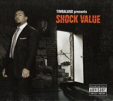TIMBALAND Shock Value CD Album 2007 RAR & WIE NEU + NELLY FURTADO & TIMBERLAKE