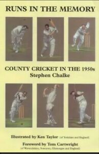 Runs in the Memory: County Cricket in the 1950s, Very Good Condition Book, Chalk