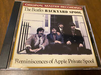 The Beatles Backyard Spool Reminiscences Of Apple Private Spool CD Masterdisc