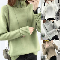 Warm Turtleneck Sweater Women Jumper Women Sweaters Pullovers Knitted Sweate Mw