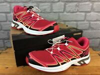 SALOMON LADIES WINGS FLYTE 2 W PINK CITRUS TRAIL RUNNING SHOES RRP£110 MANY SIZE