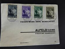 Briefumschlag Fagus-Werk Walter Gropius Johannes Molzahn Weltkulturerbe Alfeld