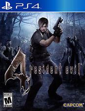 Juegos enmarcado impresión: Resident Evil 4 Playstation 4 edición (imagen Arte Cartel)
