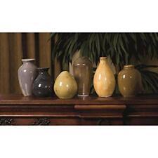 IMAX Set of 6 Mini Vases Ceramic MultiColor Decoration Decor 35073-6