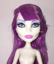 Monster High Ghouls Getaway Spectra Vondergeist Nude Fashion Doll NEW for OOAK