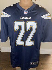 San Diego Chargers Jersey Mens L Jason Verrett #22 On Field Nike