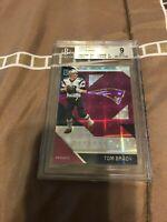 BGS 9.0 2016 Panini Unparalleled Purple Tom Brady SP