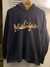 New listing Vintage 90s University Of Michigan Wolverines Script Hoodie Single Stitch U Of M