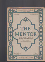 Mentor Magazine July 1 1916 The Weather
