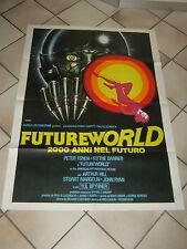 FUTUREWORLD 2000 ANNI NEL FUTURO manifesto Peter Fonda Yul Brynner