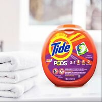 2-PACK Tide PODS 3 in 1 HE, Spring Meadow Scent, 81 Count FREE SHIPPING