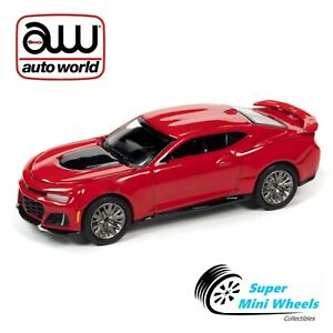 Generation Ab 2009 1//24 Welly Modell Aut Chevrolet Chevy Camaro Coupe Rot ZL1 5