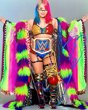 ASUKA WWE 8X10 AUTOGRAPHED PHOTO EXTREMELY RARE EMPRESS OF TOMORROW