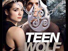 Teen Wolf Derek Hale Triskelion silver colour pendant necklace costume prop