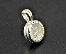 Genuine Pandora Floating Locket, Sapphire Crystal Glass & Clear CZ 792144CZ