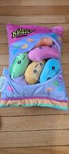 NWT 2 Scoops Plushies Pillow iScream Bag Of Multicolored Jelly Beans Easter HTF