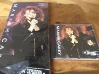 Mariah Carey - MTV Unplugged EP - USA Original Long-box Cd Album.Very Rare.