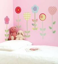 Kids Polly Patch Flower Wall Stickers 🌸 Girls Bedroom Nursery Playroom 🇬🇧