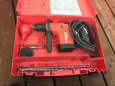 HILTI TE15 rotohammer. with an assortment of bits almost brand new. barely used