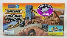 1996 Matchbox Action System Gold Mine Mountain No. 50715-5 w/ Bonus Vehicle