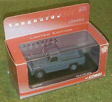 Vanguards Corgi Die-cast 1/43 scala va 07608 Land Rover Blu