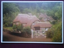 POSTCARD THATCHED COTTAGES