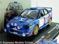 SUBARU IMPREZA WRC MODEL RALLY CAR 1:43 SCALE 2002 IXO ROUSSELOT MONDESIR K8