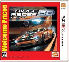 New Nintendo 3DS Ridge Racer 3D Welcome Price Japan 4573173316774