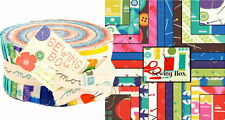 SEWING BOX  JELLY ROLL ~ Moda Fabric Jelly Roll by GINA MARTIN    Strip Quilting