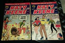 KATY KEENE 14 16 Pin Up Golden Age Comics PAPER DOLLS archie bill woggon art gga