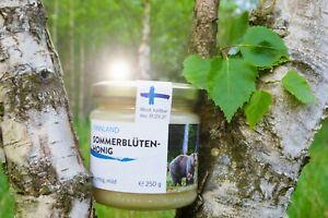 Finnish summer blossom honey 250g, Pure, Raw, Natural, Unheated Honey