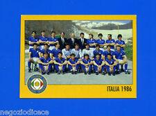 AZZURRI CON IP ITALIA - Merlin - Figurina-Sticker n. - SQUADRA ITALIA 1986 -New