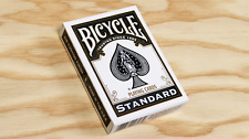 Black Standard Bicycle Playing Cards Poker Size Deck USPCC New Sealed