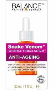 BALANCE ACTIVE FORMULA Snake Venom Wrinkle-Freeze Serum 30ml