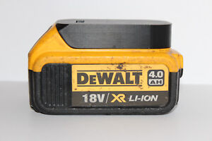 5x Black battery holder / cover for DeWALT XR 18v